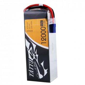Tattu 12000mAh 6S1P 15C Lipo Battery Pack with EC5 plug | TA-15C-12000-6S1P-EC5