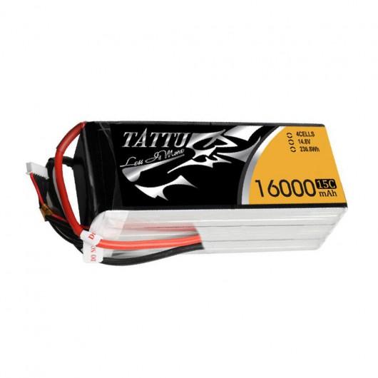 Tattu 16000mAh 4S1P 15C Lipo Battery Pack | TA-15C-16000-4S1P