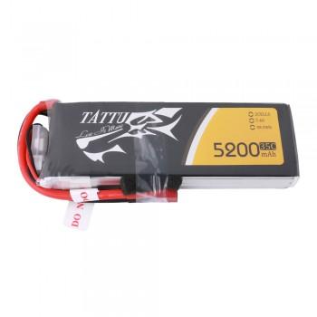 Tattu 5200mAh 7.4V 35C 2S1P Lipo Battery Pack with Deans Plug | TA-15C-5200-2S1P-Deans