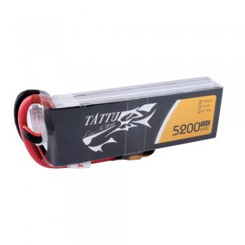Tattu 11.1 v 5200mah 3s 35C Lipo Battery Pack with XT60 plug | TA-35C-5200-3S1P-XT60