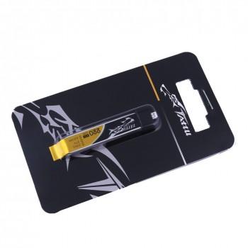 Tattu 220mAh 3.7V 45C 1S1P HV Lipo Battery Pack with Eflite Stock Connector (1pcs) | TA-45C-220-1S1P