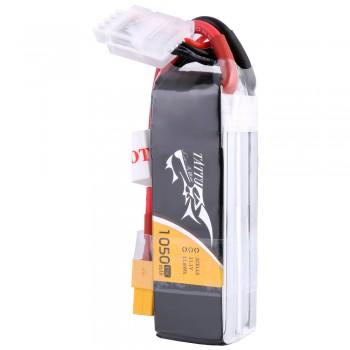 Tattu 1050mAh 11.1V 45C 3S1P Lipo Battery Pack with XT60 plug | TA-45C-1050-3S1P-XT60