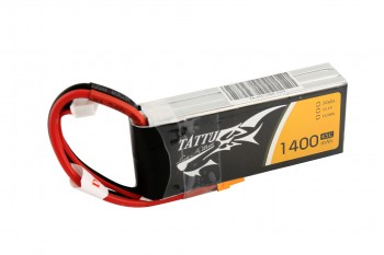 Tattu 1400mAh 11.1V 45C 3S1P Lipo Battery Pack with XT30 plug | TA-45C-1400-3S1P-XT30