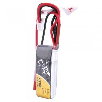 Tattu 300mAh 7.4V 45C 2S1P Lipo Battery Pack with JST-SYP Plug | TA-45C-300-2S1P-JST