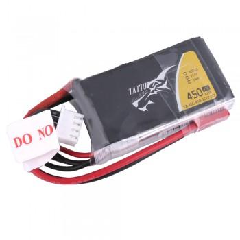 Tattu 450mAh 11.1V 45C 3S1P Lipo Battery Pack with JST-SYP plug | TA-45C-450-3S1P-JST