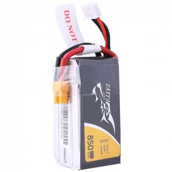 Tattu 850mAh 14.8V 45C 4S1P Lipo Battery Pack with XT60 plug | TA-45C-850-4S1P-XT60