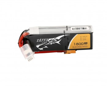 Tattu 1800mAh 14.8V 75C 4S1P Lipo Battery Pack for Racing with XT60 Plug | TA-75C-1800-4S1P-racing - ***DISCONTINUED - GET THEM WHILE THEY LAST!****