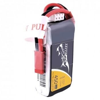 Tattu 450mAh 7.4V 75C 2S1P Lipo Battery Pack with JST-SYP plug | TA-75C-450-2S1P-JST