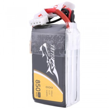 Tattu 850mAh 11.1V 75C 3S1P Lipo Battery Pack with XT30 Plug | TA-75C-850-3S1P-XT30