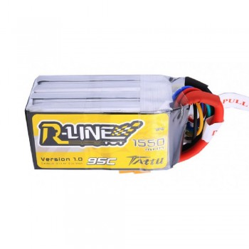 Tattu R-Line 1550mah 4S 95C Lipo Battery with XT60 Plug for FPV Racing drones | TA-RL-95C-1550-4S1P