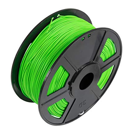 Fluorescent Green PLA 1.75mm, 1kg/roll