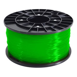 Translucent Green PLA 1.75 mm Filament 1KG Roll