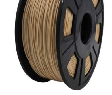 Wood PLA 1.75 mm Filament .5KG Roll