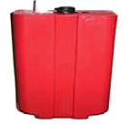 Flo-Dynamics 941203 Used Red Fluid Tank