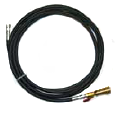 Flo-Dynamics 941510 Black Service Hose | with Ball Valve