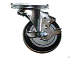Flo-Dynamics R942118 Locking Caster Wheel