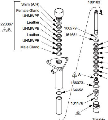 GRACO 260399 PUMP REPAIR Q KIT FOR GH533 PORTABLE AIRLESS PAINT SPRAYER