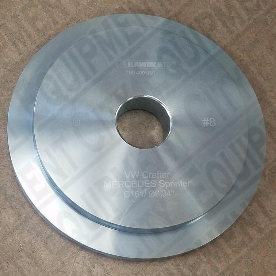 Haweka 160-400-056 Hub Pilot Disc 8 - NPR 40mm