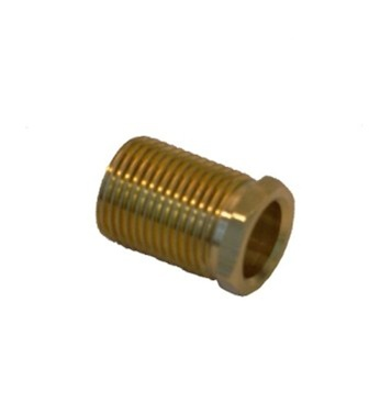 QSP 106-61 For Hunter Wheel Adapter Bushing  Left Hand Thread Acme Brass Bushing (UPPER)