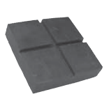 Replacement Rubber Pad for Globe / Ford Smith Lifts  Square  OEM FS-208512  BH-7250-03P