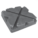 Replacement Rubber Pad for Western Lifts  OEM S-350  BH-7750-02