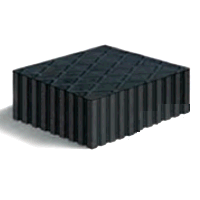 Rotary FJ2428 *3inch RUBBER ADAPTER BLOCK