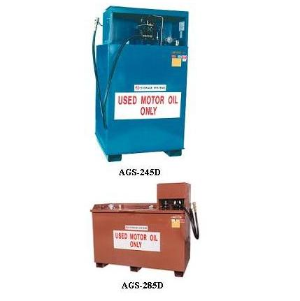 John Dow AGS-245D Used Oil Storage System - 245-Gallon/Verticle