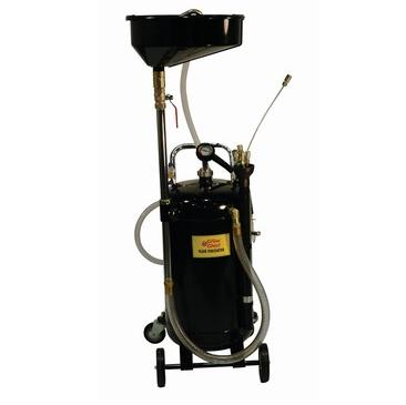 John Dow JDI-20COMBO 20-Gal. Combination Fluid Evac & Oil Drain