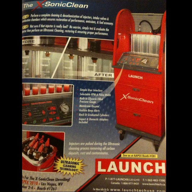 Launch X-SonicClean
