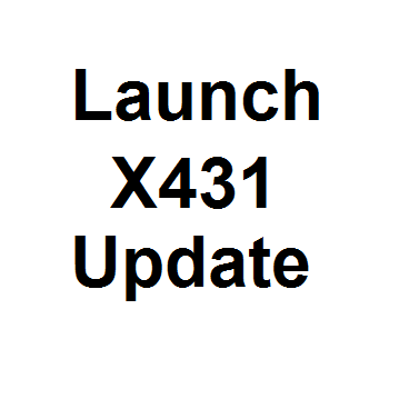 Launch X431 Update for X431 Standard, X431-TOOL, & Diagun Full P