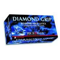 Diamond Grip Latex Gloves 100/Box - Large
