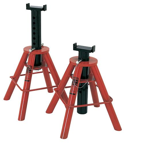 Norco 81209I Medium Pin Type 10 Ton Capacity Jack Stands