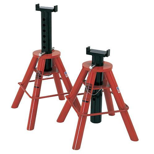 Norco 81210I High Pin Type 10 Ton Capacity Jack Stands | Imported