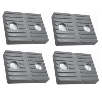 BH-7101-00-4 Rubber Arm Pad Kit for Ammco & Wheeltronics 82365