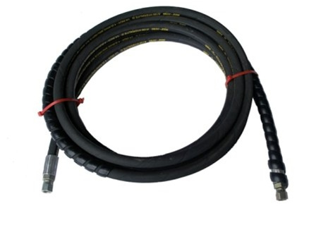 QSP 137-72 RL Hydraulic Hose | Long Hose Small Fitting | Control to Lock 18'
