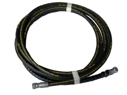 QSP 137-73 RL Hydraulic Hose | Long Hose Large Fitting | Control to Ram 18'