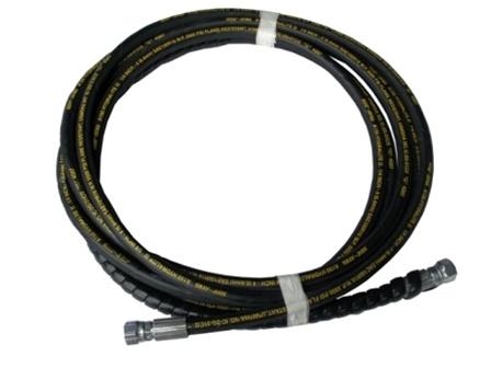 QSP 137-73 RL Hydraulic Hose | Long Hose Large Fitting | Control to Ram 18'