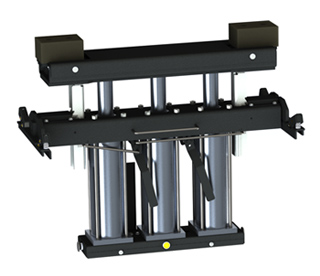 QSP RJ-6000 - 6,000 pound rolling swing air rack jack