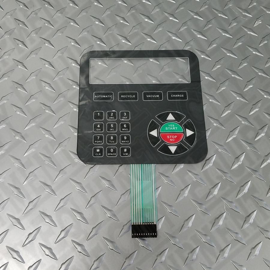RTI 024 80126 00 KEYPAD MEMBRANE (RHS980) (0248012600)