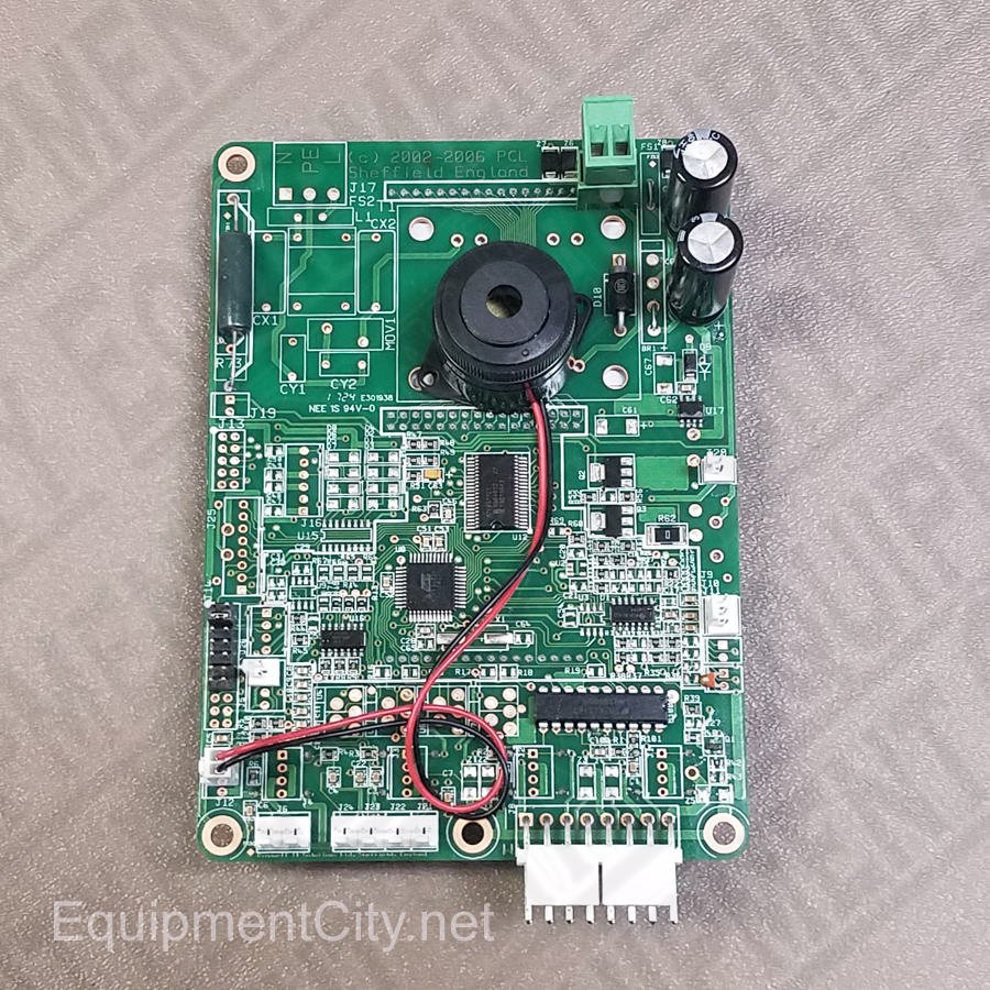 Equipment City Rti 355 80176 00 Circuit Board With Sensor Old Picture Of Part Number 024 3558017600