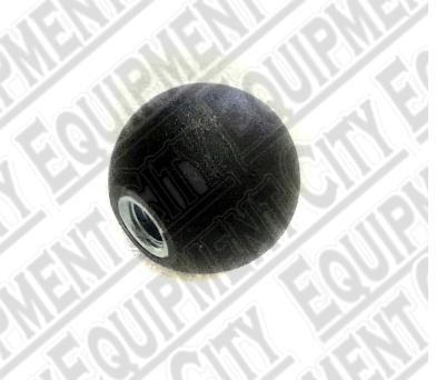 Challenger 36096 - Black Plastic Knob 1-3/16 3/8-16 Ins.