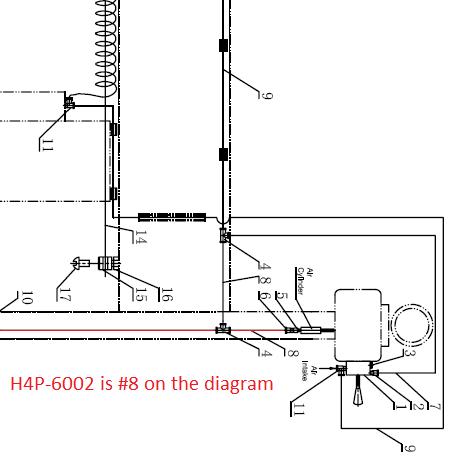 H4P-6002 Air Hose