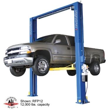 Rotary RTP12  Revolution 2-Post Lift | 12000 lbs