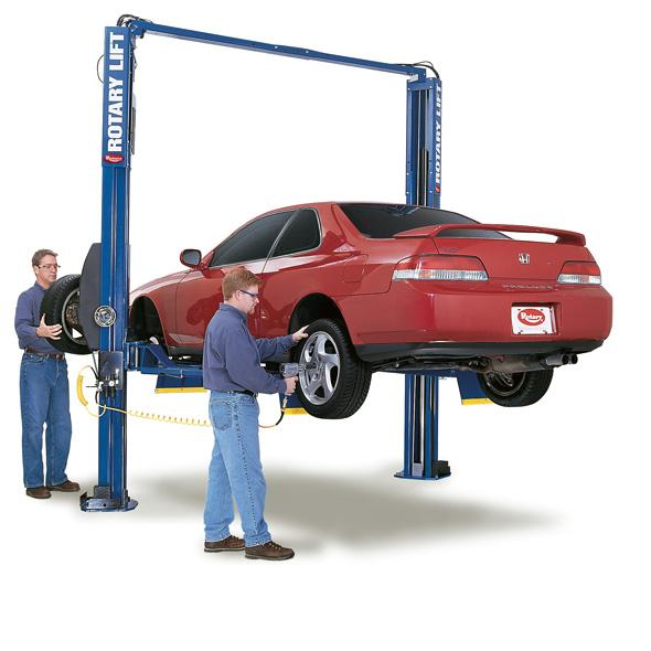 Rotary SPOA7-MP Conventional Asymmetric Two Post Pad Lift