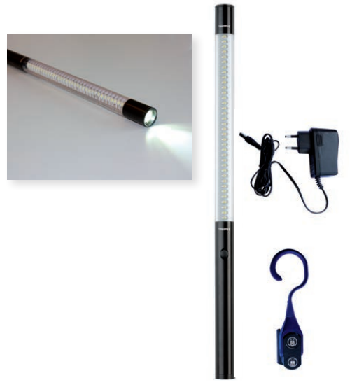 Rotary FA5702 Rechargeable LED Inspection Light | with Top Spot Light