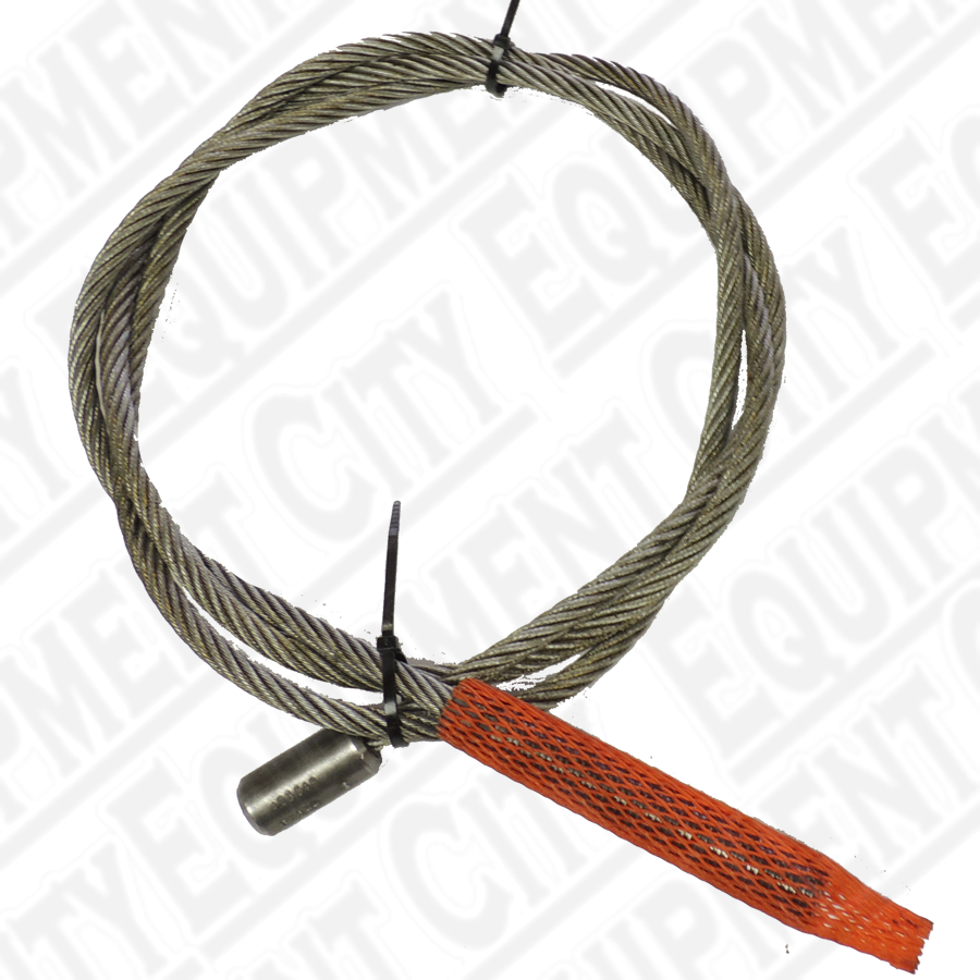 Rotary FC544 Left Rear Cable - 9' 9-5/8"