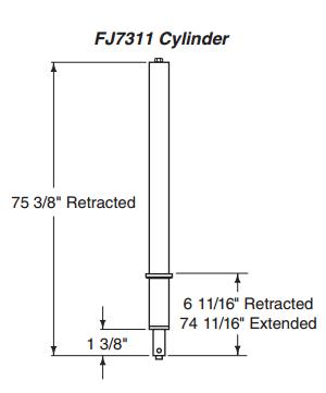 Rotary FJ7311 CYLINDER