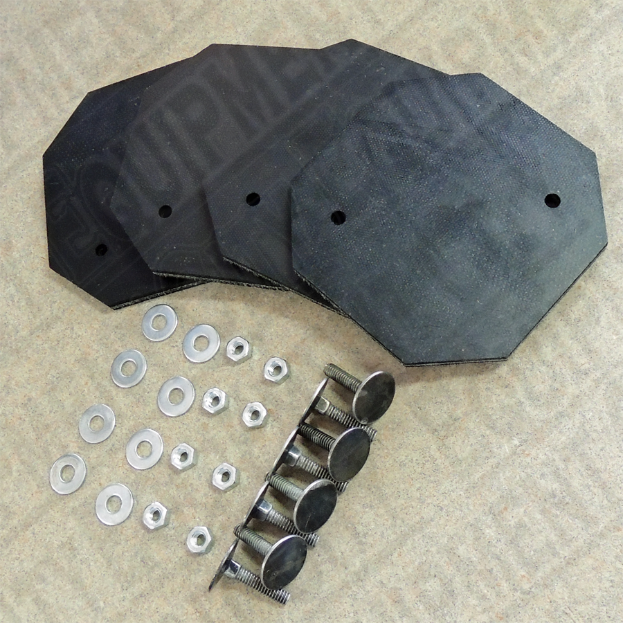 Rotary 994105 SWIVEL PAD RUBBER INSERT KIT