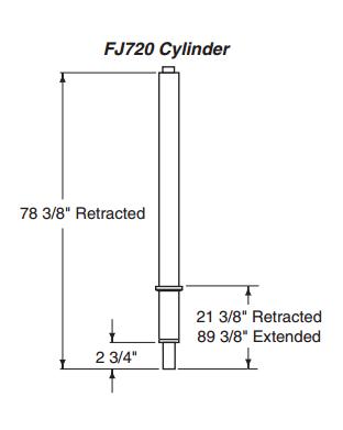 Rotary FJ720-30 SEAL KIT BEST OR TEX HYD FJ720