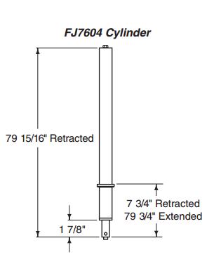 Equipment City — Rotary FJ7604 Hydraulic Cylinder   SPO15/18/SL19